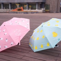 Sheep and Duck Folding Umbrella