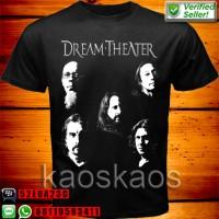 harga Kaos Dream Theater Team Black White Tokopedia.com