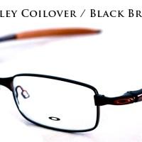 Frame Kacamata Eyeglass Oakley Coilover Black Brown