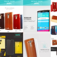 Kalaideng Air Case LG G4 (Free Tempered Glass) Softcase Silikon Jelly