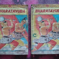 Komik Indonesia Jadul: R.A. Kosasih - Bharatayudha B, C