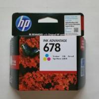 TINTA HP 678 COLOR ORIGINAL