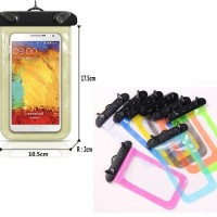 Sarung hp gadget Waterproof bag smartphone cover universal samsung dll