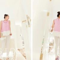 harga Chiffon Purple Blouse Tank Top Atasan Baju Pakaian Wanita Ungu Import Tokopedia.com