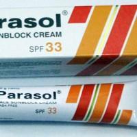 Parasol Sunblock Cream SPF33 20gr - krim tabir surya