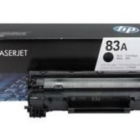 hp Black Laserjet Toner Cartridge CF283A (83A) Original