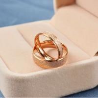 Cincin Couple Sand Gold