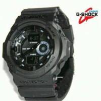 JAM TANGAN PRIA SPORTY CASIO G-SHOCK GA 150 full black