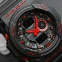 JAM TANGAN PRIA SPORTY CASIO G-SHOCK GA 150 hitam merah
