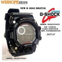 JAM TANGAN PRIA SPORT DIGITAL CASIO G-SHOCK D 8065 hitam