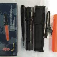 stungun / setrum + laser merah / alat kejut listri