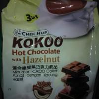 Chek Hup 3in1 Kokoo Hot Chocolate with Hazelnut Minuman Coklat 15pcs