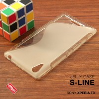 Sony Xperia T3 Soft Gel Jelly Silicon Silikon TPU Case Softcase Clear