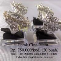 harga Ring / Emban / Ikat Cincin Perak Cina Islami Tokopedia.com