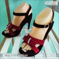 harga Sendal Wedges | Sepatu High Heels Pita Merah Tokopedia.com