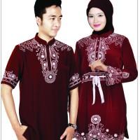 Baju Muslim Couple Kemeja Gamis , Baju Koko , Pakaian , Atasan Terbaru