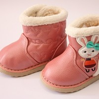 harga Sepatu Boots Peach Muda Anak Cewek Import Untuk Umur 1y-3y Tokopedia.com