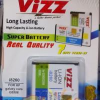 Baterai/battery Vizz Samsung Galaxy Core G3508/i8260 2500mah
