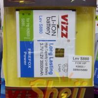 Baterai/batre Vizz Lenovo S880 S890 3500mah