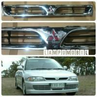Grill Bumper Mitsubishi Lancer Evo 3 1993-1996 ( Chrome Paint)