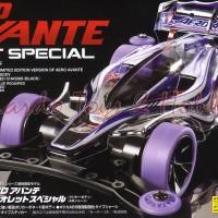 Tamiya #95062 - Aero Avante Violet Special (Clear Body) (Mini 4WD)