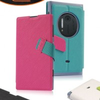 Casing Baseus Flipcase Leathercase Flipcover Case Nokia Lumia 1020