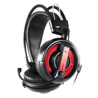 E-Blue Cobra Black Stereo Gaming Headset Hitam