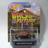 HW RETRO BACK TO THE FUTURE FORD SUPER DE LUXE