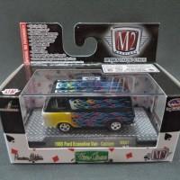 M2 Ford Econoline Van hitam