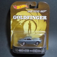 HW RETRO JAMES BOND 007 1963 ASTON MARTIN DBS
