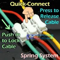 harga Quick Connect 3 Wire Connector Spring Terminal Sambungan Kabel Listrik Tokopedia.com