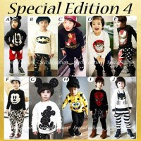 baju setelan anak GW SE 4 size kids medium batman