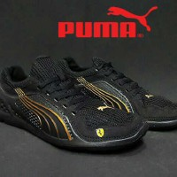 Sepatu Puma Lift Racer Full Black