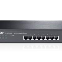 TP-LINK TL-SG1008: 8-port Gigabit Switch, Unmanaged rack-mountable steel case