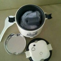 Mini Rice Cooker + Magic Com Hello Kitty