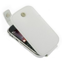 PDair Flip Leather Case Blackberry 9900-White