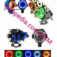 Jual LED CREE Transformer U7 angel devil eyes Lampu Tembak sorot U7 Murah
