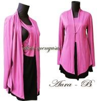 Baju/tunik Menyusui (nursing wear) Aura
