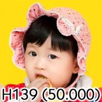 H139 Baby hat Headband beanie axe / Topi bayi anak balita bandana