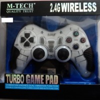 Joystick GAMEPAD Wireless Turbo bisa PS2, PS3, Komputer, Laptop Murah