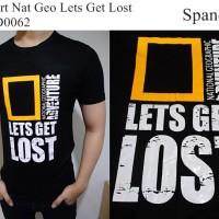 National Geographic Baju Kaos Bagus Model Sekarang - KSPD0062