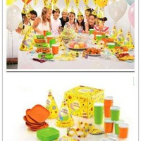 Tupperware Kids Birthday Party Set