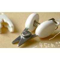 harga Travelling Mini Scissors Gunting Kecil Alat Potong Kertas Kado dll Tokopedia.com