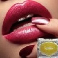 GOLDEN COLLAGEN CRYSTAL LIPS MASK, Masker Kolagen Bibir