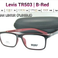 harga KACAMATA FRAME LENTUR - Levis TR503 (Pria/Wanita) - Baca/Minus Tokopedia.com