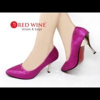 harga Sepatu Wanita Import High Heels - Red Wine Ya102 - Violet Tokopedia.com