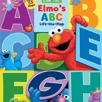 harga Sesame Street Elmo's ABC Lift the Flap Board Book with over 55 Flaps! Tokopedia.com