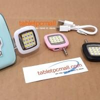 Jual LAMPU SELFIE LED Flash Camera Photo Video Light for Smartphone Tablet Murah