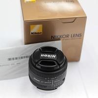 harga NEW LENSA FIX NIKON NIKKOR AF D / AFD 50MM F1.8 F/1.8D GARANSI RESMI Tokopedia.com