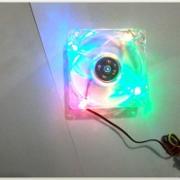 harga Fan Casing PC 8cm Transparan/Lampu Tokopedia.com